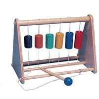 Chime Frame and Beater Wooden Sensory Toy